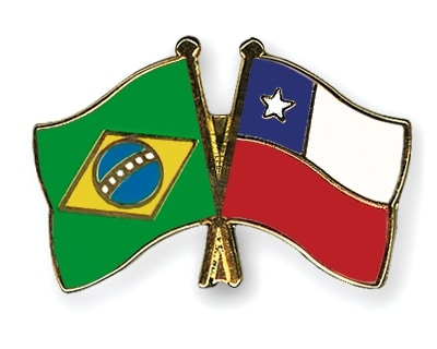 Pins Brésil Chili