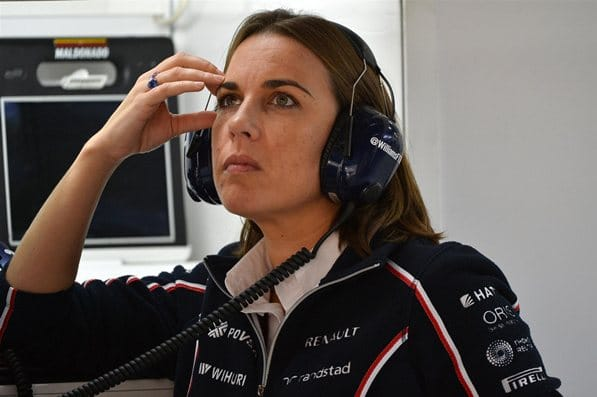 claire williams sexy