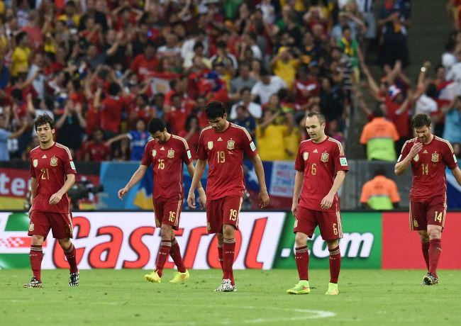 CDM 2014: L'Espagne évincée dès le premier tour!