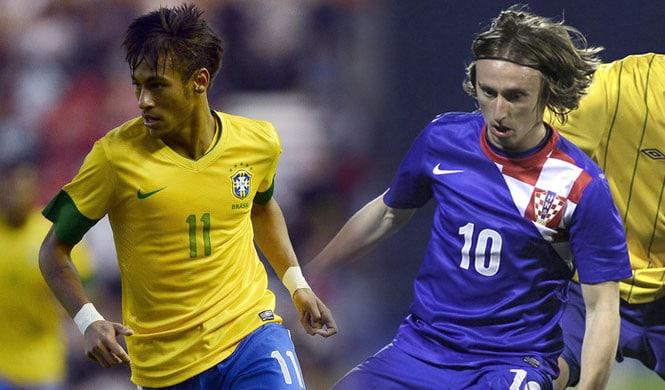 Brésil-Croatie pour lancer la Coupe du Monde!