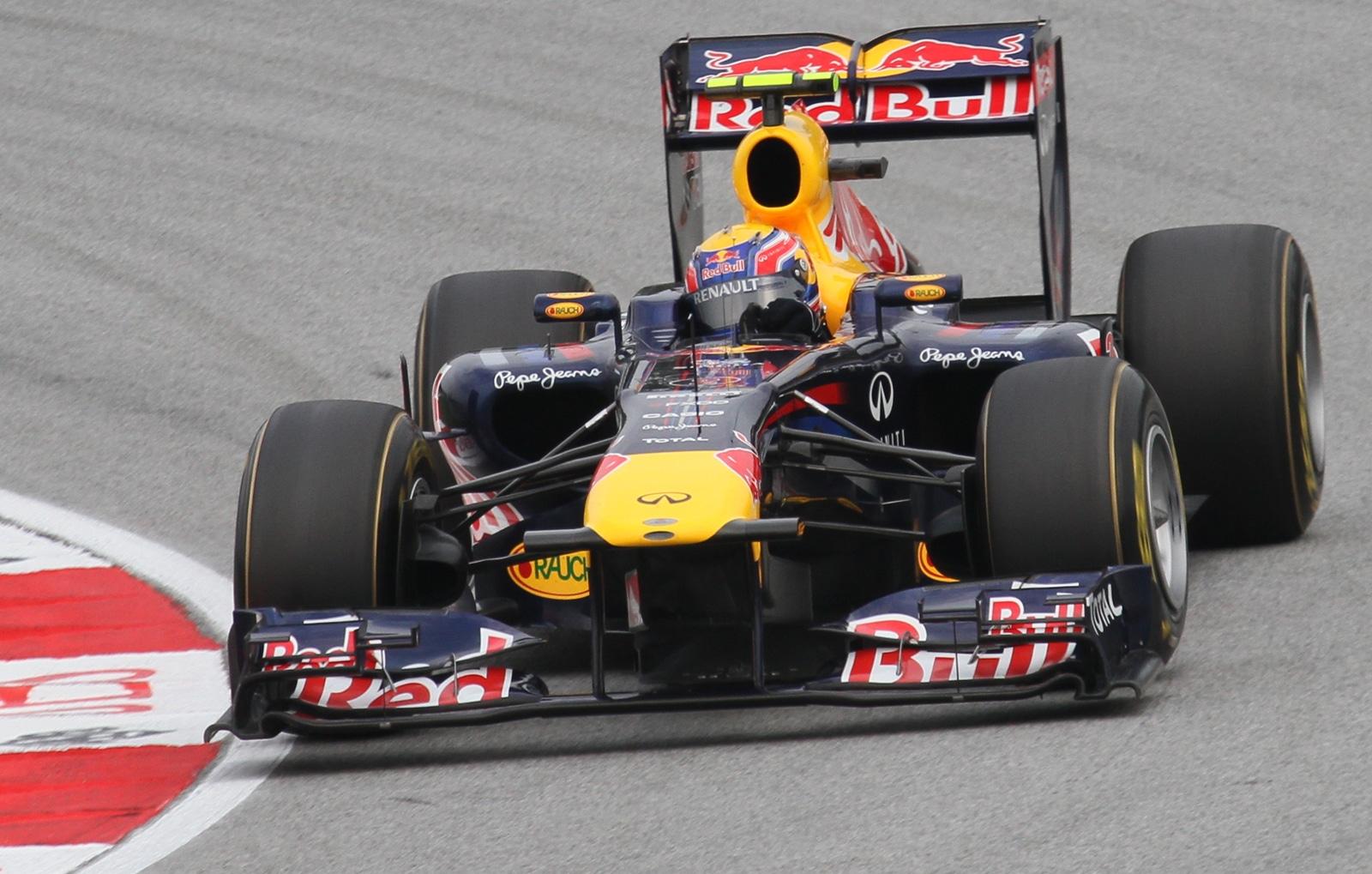 Mark Webber Red Bull