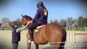 Sebastion chabal teste l'équitation.