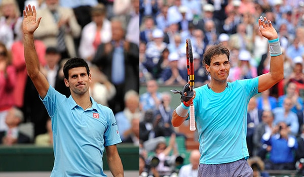 Djoko Nadal Roland Garros