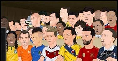 illustration coupe du monde 2014