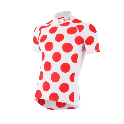 Maillot a pois manches courtes