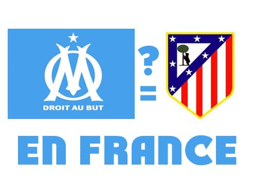 OM Ath Madrid en France