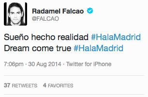 falcao au real madrid