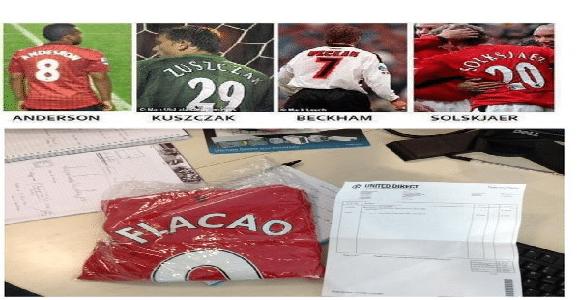 Manchester United et les flocages, une grande histoire !