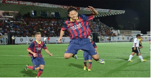 Le «nouveau Messi» est Sud-Coréen