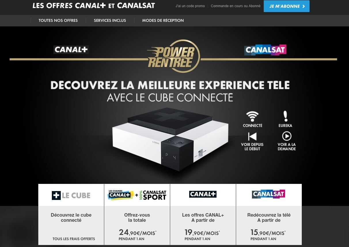 reduction 50 euro offre canal plus
