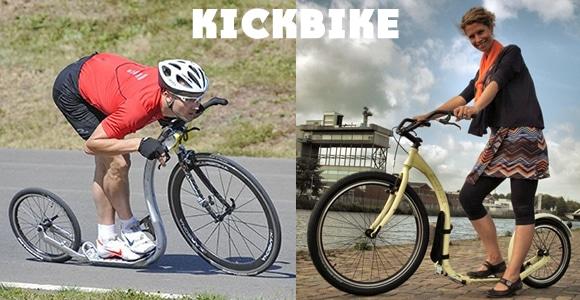 Kickbike trotinette Vitesse