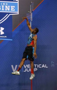 Geno Smith au vertical jump