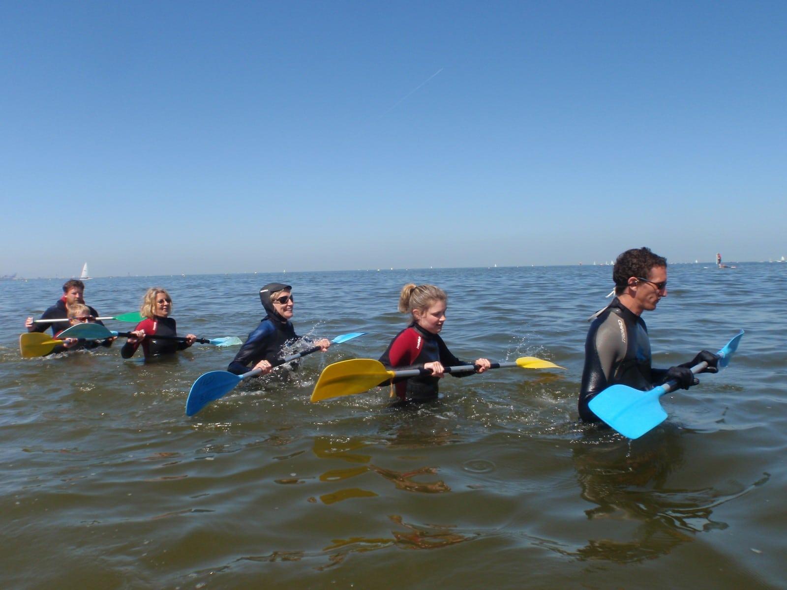 Le longe-côte, nouveau sport à découvrir pendant vos vacances !