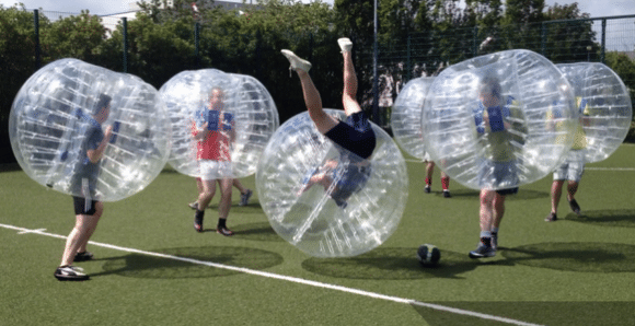 Le bubble football, un sport renversant !