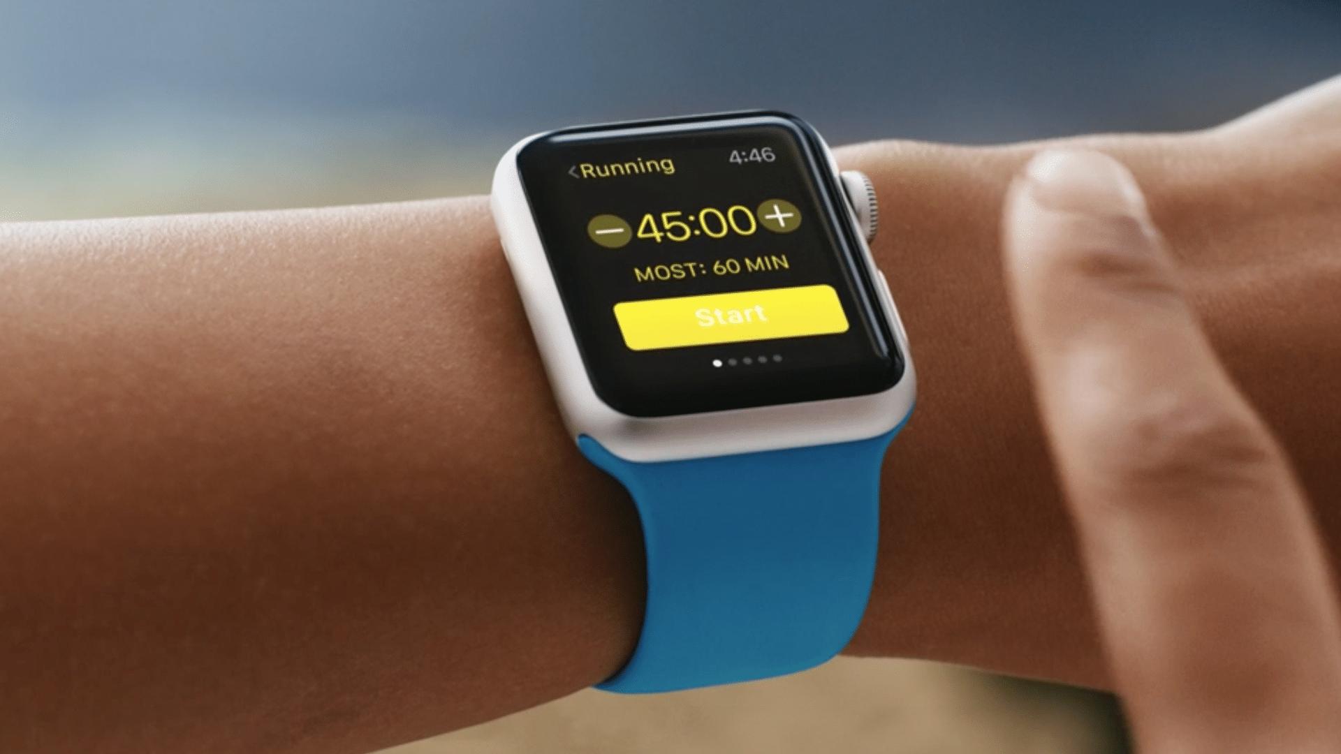 L'Apple Watch, la montre qui enregistre toutes vos activités physiques