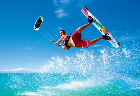 Le kitesurf,  pour une bonne dose d'adrénaline !