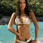 Laura Barriales bronzée