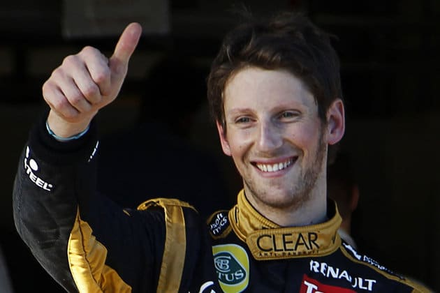 Bravo Romain Grosjean !