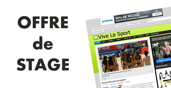 Vive Le Sport recherche une/un stagiaire rédactrice/rédacteur web & Community Manager