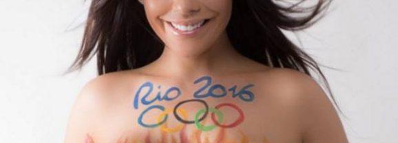Miss Bum Bum soutient les Jeux Olympiques de Rio à sa façon