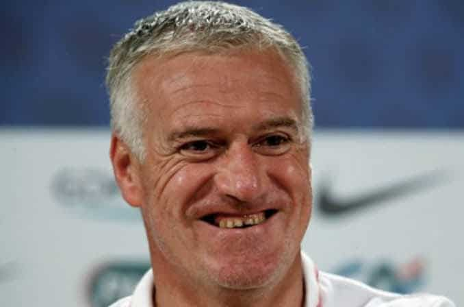 dents de Didier Deschamps