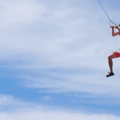 """Rope Swing"": nouvelles sensations fortes"