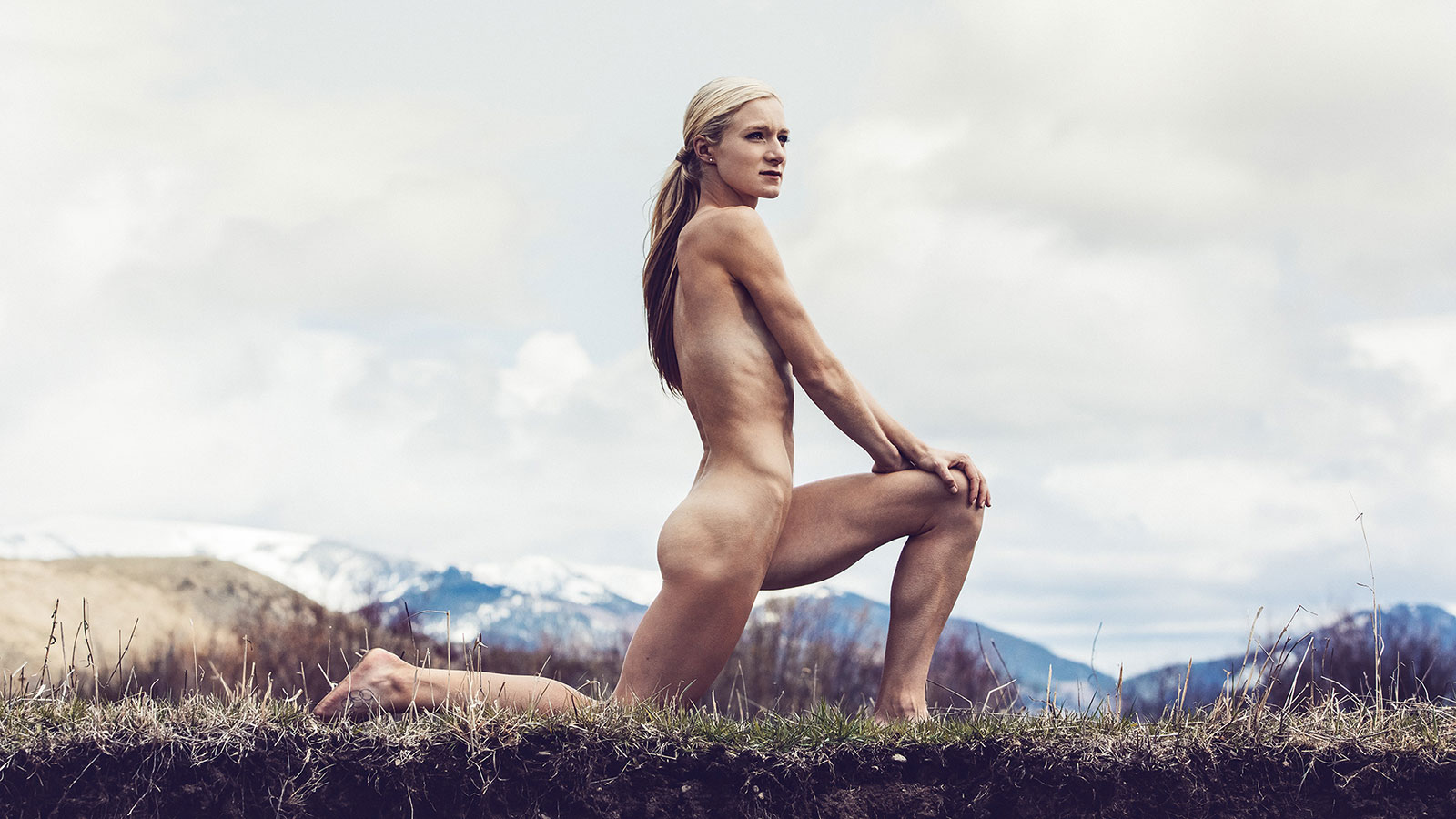 Perfect naked athletic girl agree with