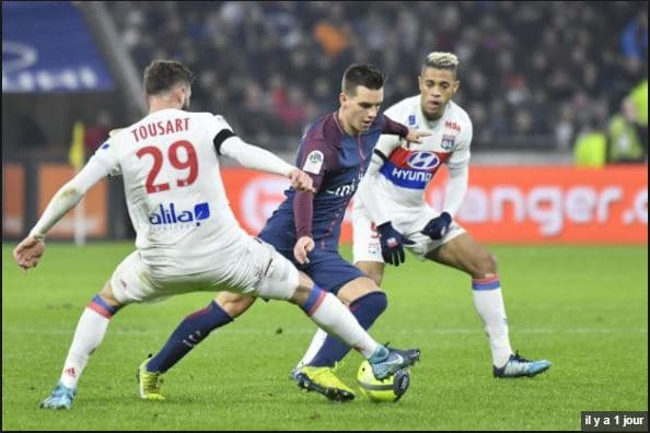 Tousart Olympique Lyonnais