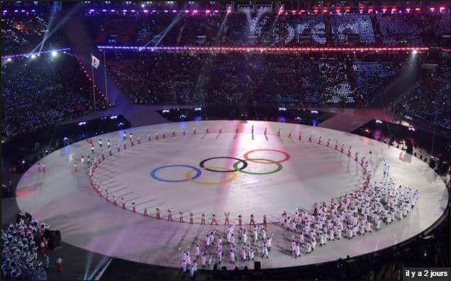Ouverture Jeux Olympiques hiver Pyeongchang