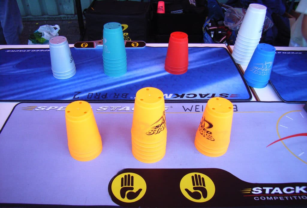 Speed Sport Stacking Cups