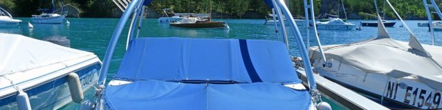 Comment se protéger du soleil à bord d'un bateau?