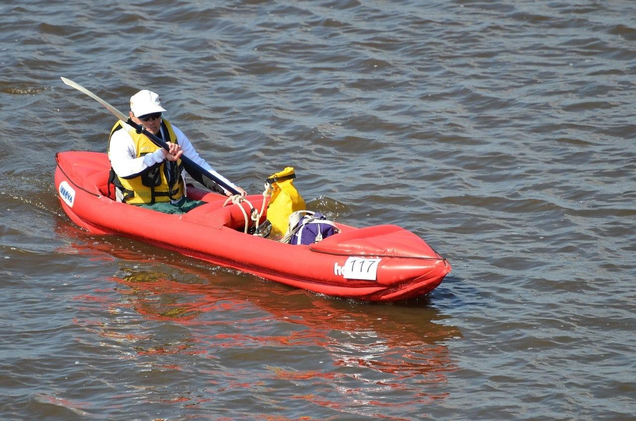 Rameur en Kayak